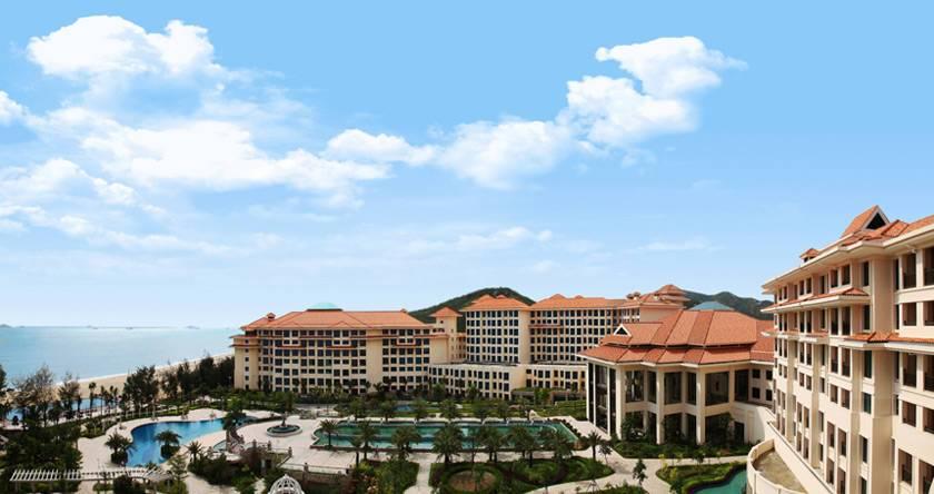 惠州金海湾嘉华度假酒店人事系统高清图片